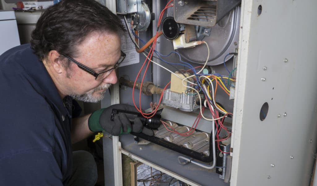 Furnace services in Edmonton